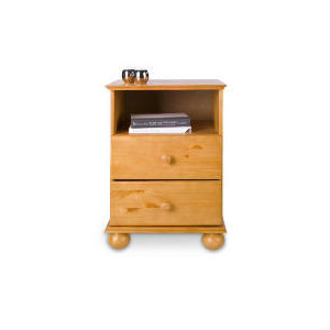 Photo of Vermont 2 Drawer Bedside Table, Antique Pine Furniture