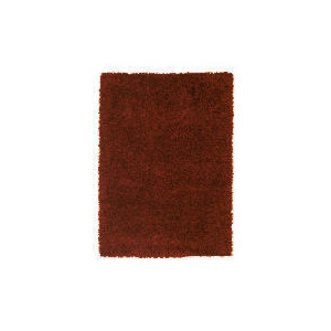 Photo of Tesco Mixed Yarn Shaggy Rug, Red 80X150CM Furniture