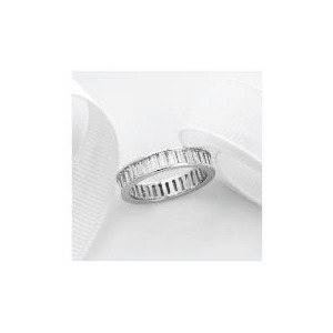 Photo of Sterling Silver Cubic Zirconia Ring, Large Jewellery Woman