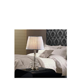 Tesco  5* Hotel Large Glass Base Table Lamp Reviews