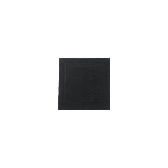 Hotel 5* Bath Mat, Black