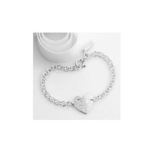 Photo of Me To YOU Sterling Silver Heart Bracelet Jewellery Woman
