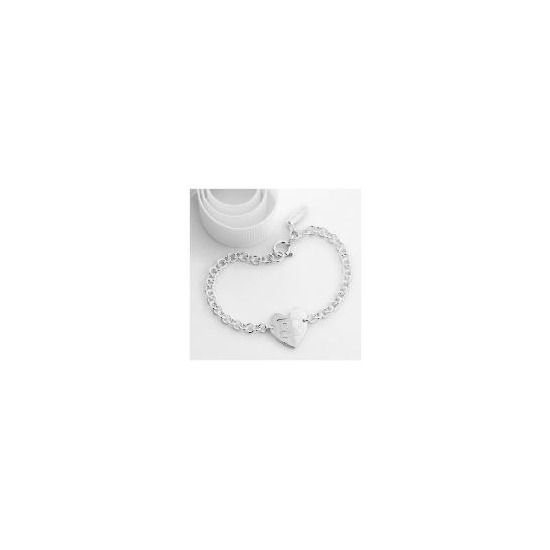 Me to You Sterling silver heart bracelet