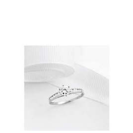 9ct White gold Cubic Zirconia Ring - N Reviews