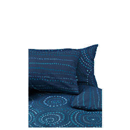 Tesco New Moroccan Single Duvet Set, Blue Reviews