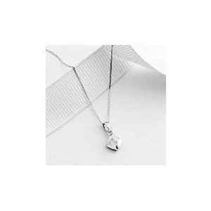 Photo of 9CT White Gold Diamond Pendant Jewellery Woman