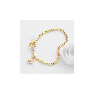Photo of 9CT Gold Heart Bracelet Jewellery Woman