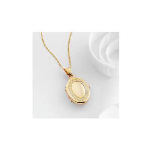 Photo of 9CT Gold Cubic Zirconia Locket Jewellery Woman