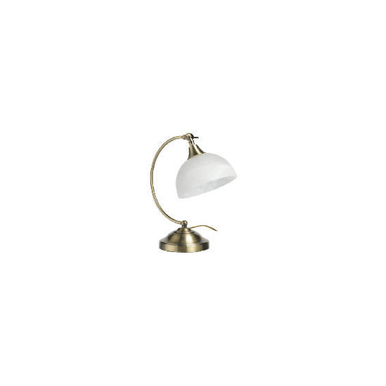 Tesco Pireaus Desk Lamp, Antique Brass