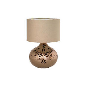 Photo of Tesco Ceramic Cutout Table Lamp Lighting