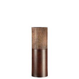Tesco Wooden Scratched Effect Cylinder Vase Large Reviews