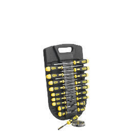Stanley 29pc Cushion Grip Screwdriver Set & Moulded Rack Reviews