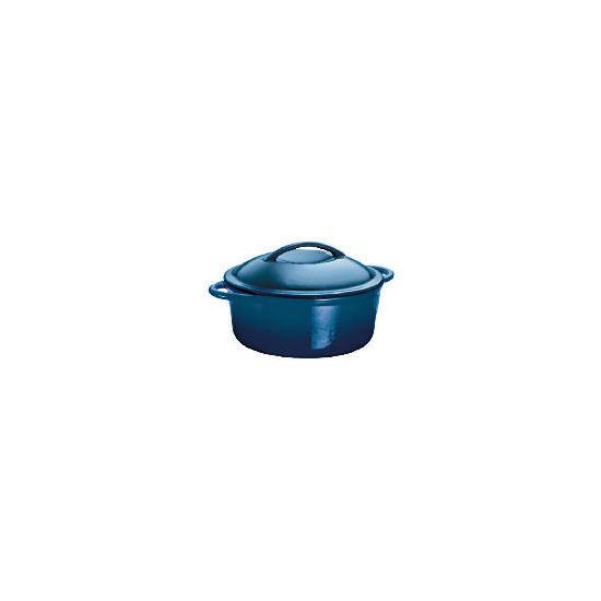 Finest Cast Iron Stockpot Blue 24 cm
