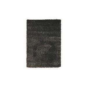 Photo of Tesco Mixed Yarn Shaggy Rug, Black 160X230 cm Furniture