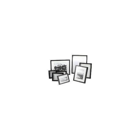 Tesco Block Frame Black Multipack