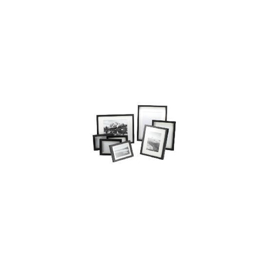 Tesco Block Frame Black Multipack