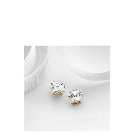 9ct Gold 6mm Cubic Zirconia  Studs Reviews