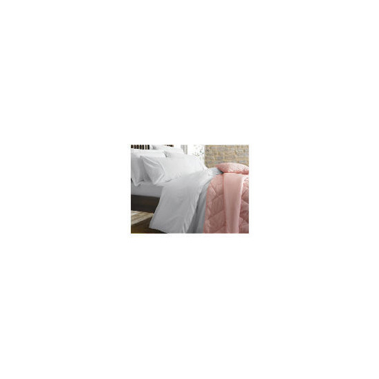 Finest Waffle Super King Duvet Set, White