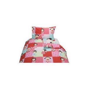 Photo of Tesco Kids Japanese Doll Duvet Set Bed Linen