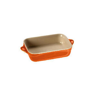 Photo of Le Creuset Curve Stoneware 17CM Rectangular Baking Dish Flame Cookware