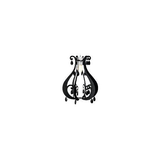 Tesco Silhouette Chandelier Pendant, Black