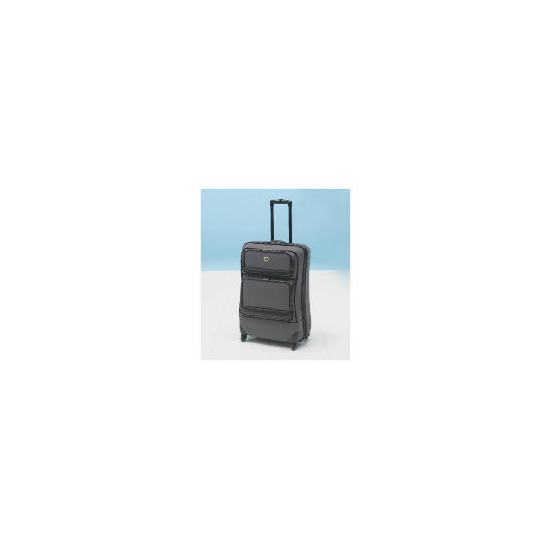 IT Lightweight Spinner Large Trolley Case - charcoal