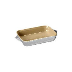Photo of Le Creuset Curve Stoneware 25CM Rectangular Baking Dish Colour Country Cream Cookware