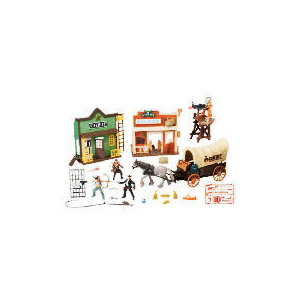 Photo of Wild West Township Batlle Playset Toy