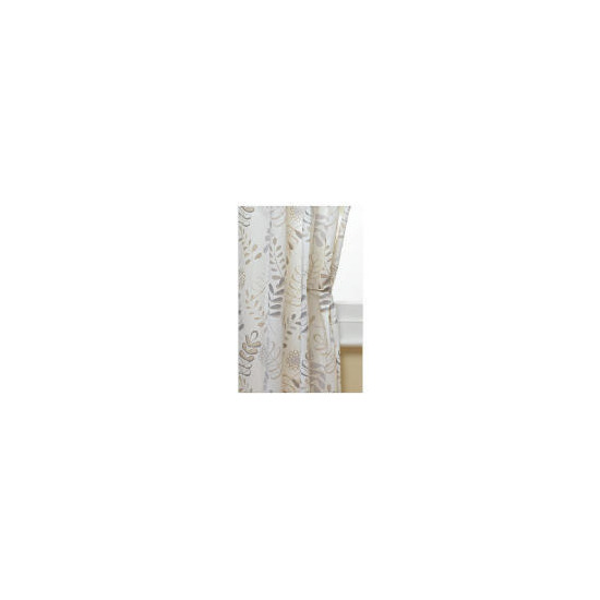 Tesco Leaf Print Curtains 117x183cm