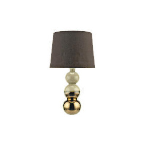 Photo of Tesco Reactive Glaze Three Ball Ceramic Base Table Lamp Lighting