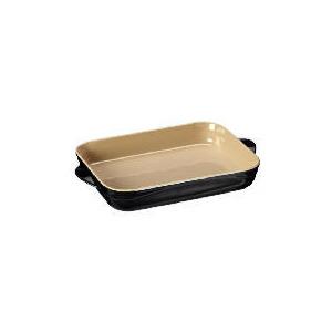 Photo of Le Creuset Curve Stoneware 30CM Rectangular Baking Dish - Jet Black Kitchen Accessory