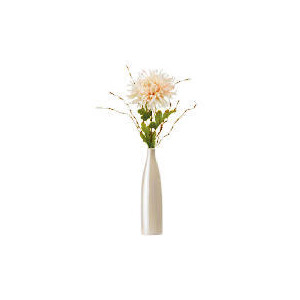 Photo of Pink Chrysanth In Pearlised Bottle Vase Home Miscellaneou