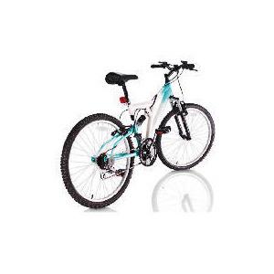 "Photo of Vertigo Rockface 24"" Girls Dual Suspension Bike Bicycle"