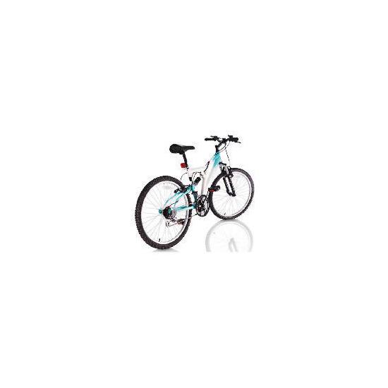 "Vertigo rockface 24"" Girls Dual suspension bike"