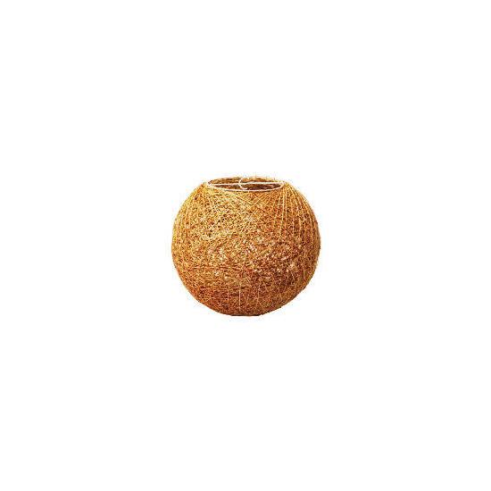 Tesco String Ball Shade 26cm, Natural