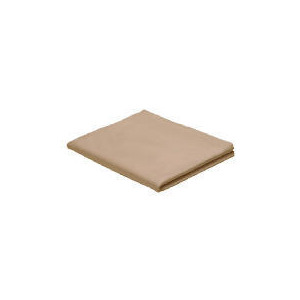 Photo of Finest Super King Fitted Sheet, Biscuit Bed Linen