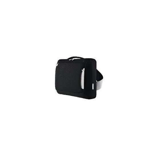 """Belkin 15.4"""" Black/Grey Messenger laptop Bag"""