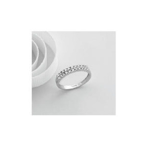 Photo of 9CT White Gold 1/4 Carat Diamond Ring, N Jewellery Woman