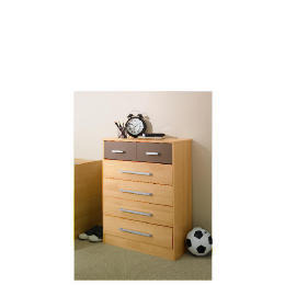 Shake 4 & 2 drawer Chest, Chocolate Reviews