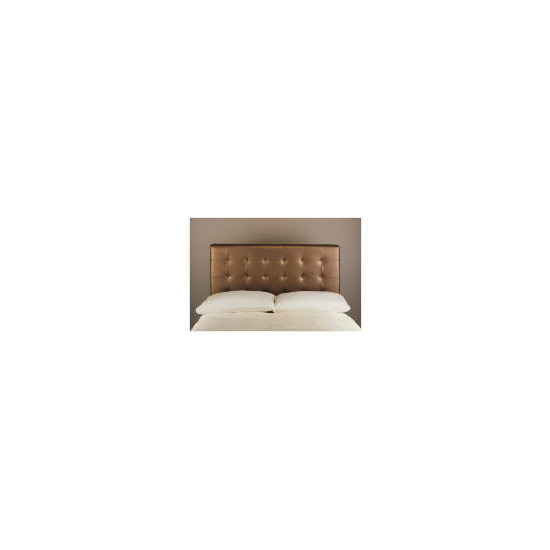 Midas King Headboard, Metallic Bronze