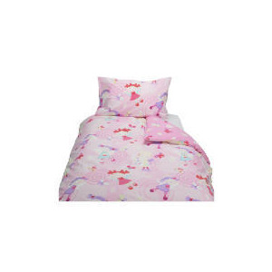 Photo of Tesco Kids Fairies Printed Duvet Set Bed Linen