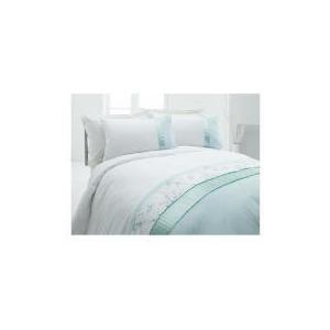 Photo of Tesco Geisha Luxury Embroidered Double Duvet Set, Aqua Bed Linen