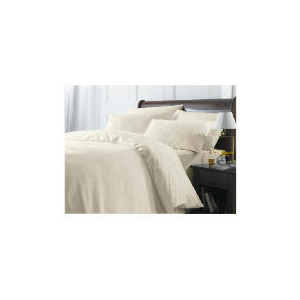Photo of Finest Cream Floral Double Duvet Set Bed Linen