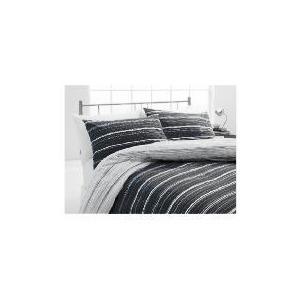 Photo of Tesco Sketch Single Duvet Set, Black & White Bed Linen