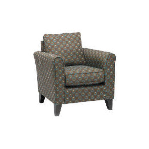 Photo of Helena Deco Circles Chair, Teal Dot Furniture