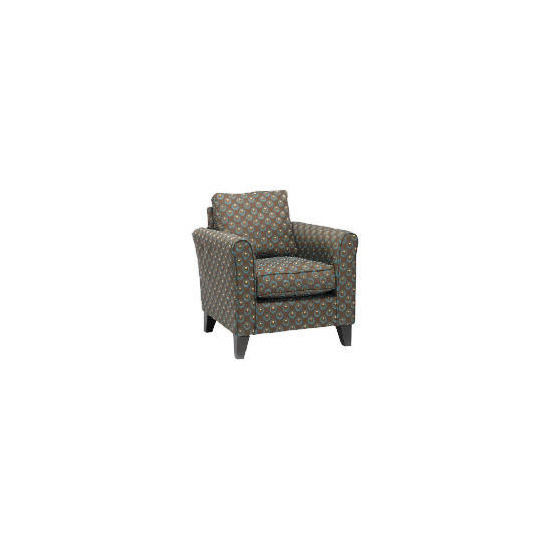 Helena Deco Circles Chair, Teal Dot