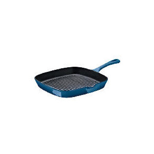 Photo of Finest Cast Iron Griddle Pan Blue Cookware
