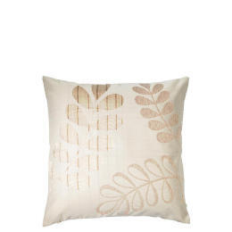 Tesco Jacquard Leaf Cushion , Natural Reviews