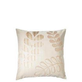 Tesco Jacquard Leaf Cushion , Natural Reviews