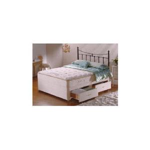 Photo of Sealy Posturepedic Ultra Pillow Elegance 4 Drawer Divan Set King Bedding